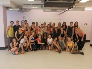 Brent Street Full Time Dance Tour US 2014